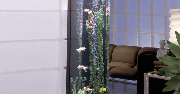 Tower aquarium for Spacearium aquariums
