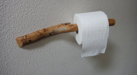 these natural branch toilet paper holders are sure to add rustic charm to a place that needs it. Black Bedroom Furniture Sets. Home Design Ideas