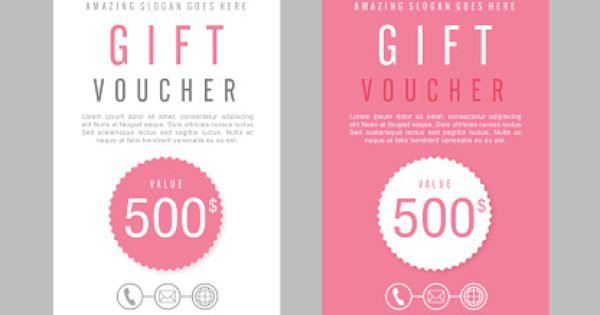 Multi Use Business Gift Voucher – Voucher Design