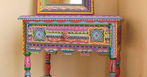 Mesa estilo Mexicano, $2300 en ofeliafeliz.com.ar
