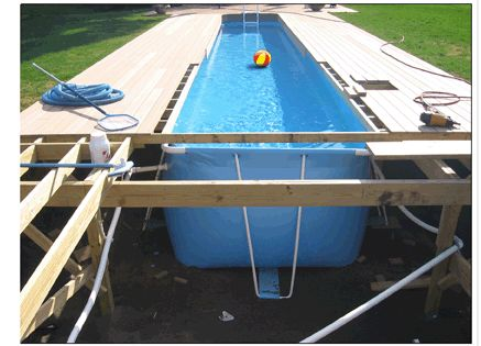 Deck With Lap Pool Cost To Build Google Search
