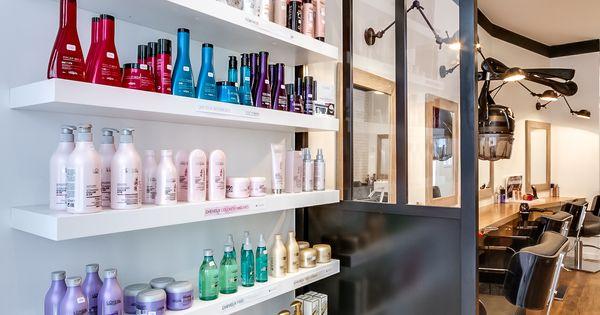 Rénovation totale dun Salon de coiffure. Paris. Espace retail ...