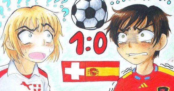 Aph Spain Vs Switzerland By Cadaska On Deviantart Hetalia Anime Switzerland