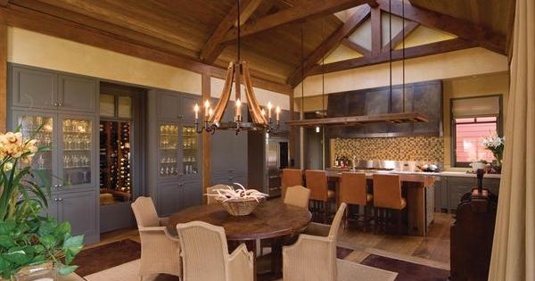 I Love The Walk Through Wine Cellar From The Dining Room