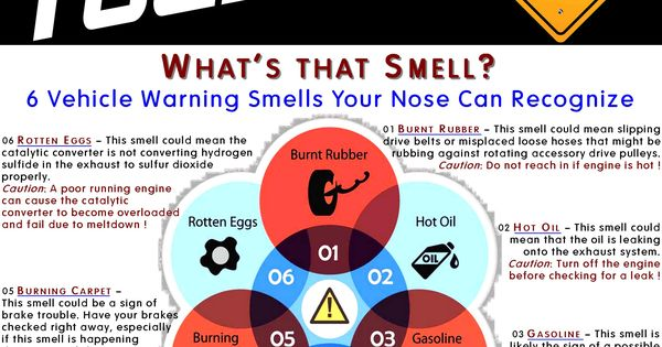 Car Care Tip: Odors Are Definitely Evidence Of Something