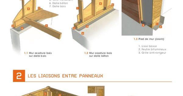 3 1 plancher bois sur murali re 3 2 plancher bois sur for Lisse haute ossature bois