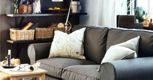 IKEA Österreich, Inspiration, Wohnzimmer, Sitzecke, Sofa EKTORP ...