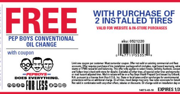 oil change coupons synthetic