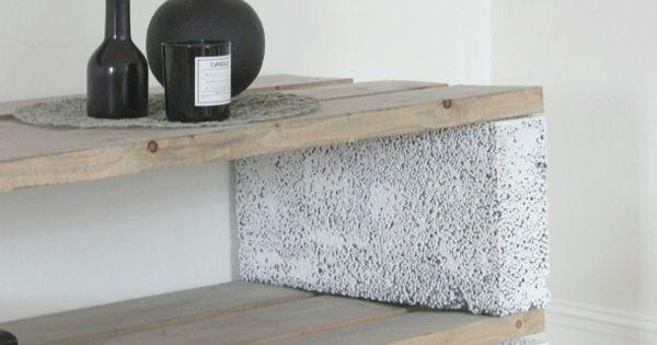43 id es de petit rangement abordable pour l 39 appartement parpaing appartements et rangement. Black Bedroom Furniture Sets. Home Design Ideas