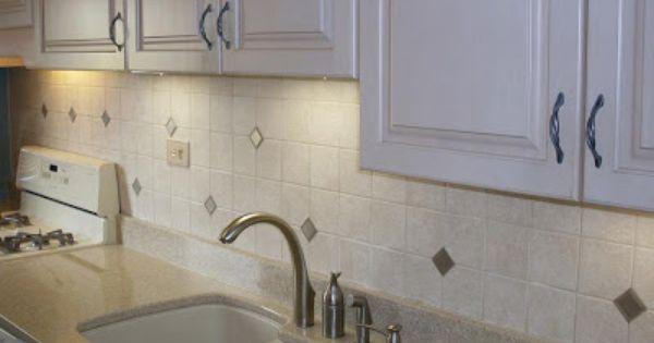 Kitchens Baths By D Zyne Kitchens A Simple And Elegant Tile Backsplash Ceramic Tile Backsplash Moroccan Tile Backsplash Tile Backsplash