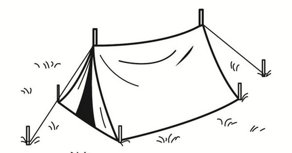 Tent Coloring Sheet Sketch Coloring Page Tent Drawing Coloring Sheets Tent