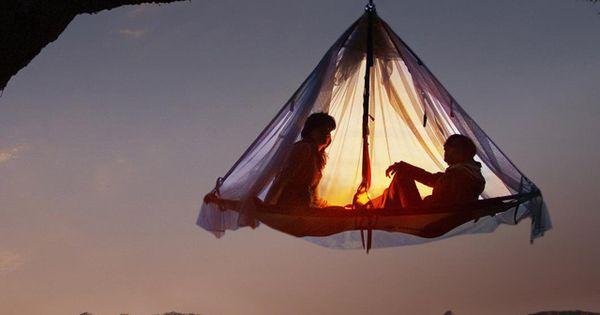 I rather Tarzan's tree house. Tree tent