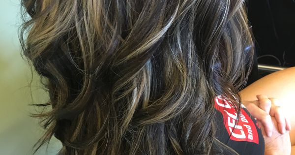 Rich Dark Neutral Chocolate Brown With Blended Highlights