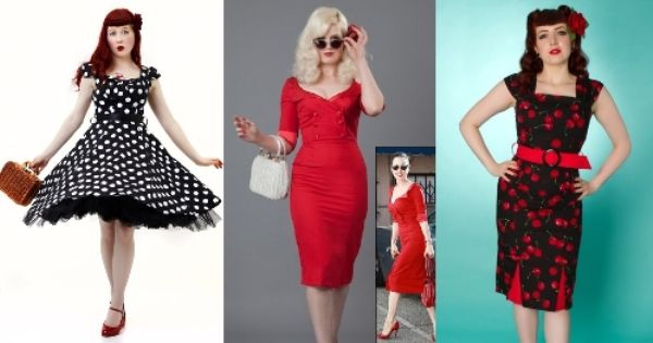 Rockabilly pinup blog top 5 rockabilly party dresses for 1950s wedding guest dresses