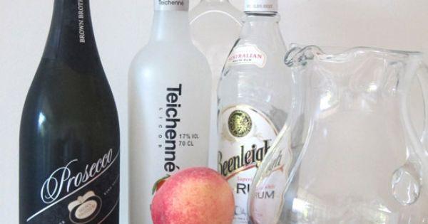 Cocktail Friday – Sparkling White Peach Sangria | White ...