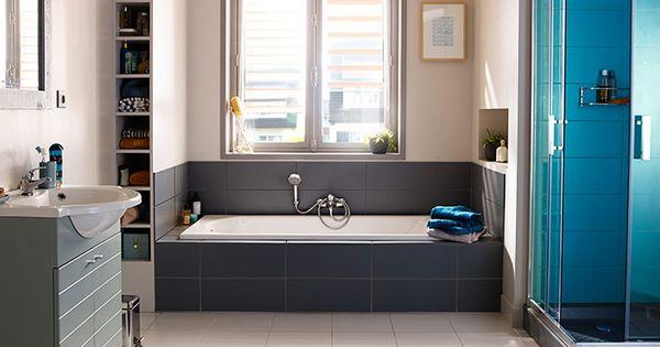 Castorama gagner de la place dans la salle de bains profitez d 39 un espace vide pour cr er un - Accessoires salle de bain castorama ...