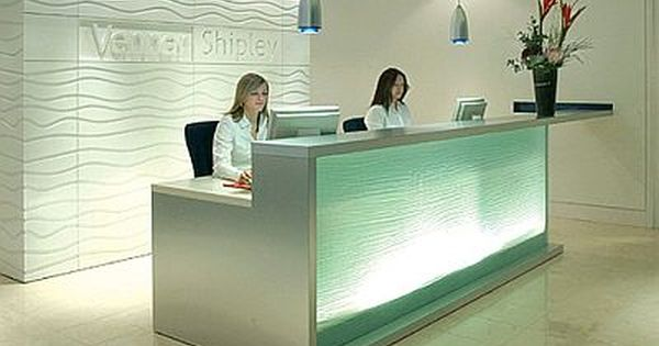 Medical reception area design google search clinic for Front office interior design ideas