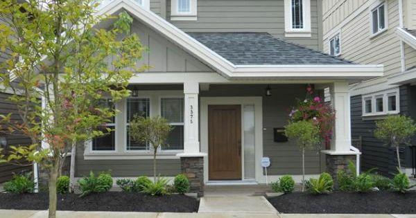 exterior design ideen vorgarten garten einfach klein ...