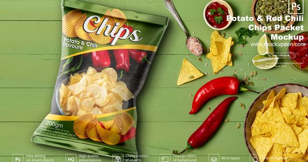 Download Snack Packaging Mockup 15 Best Free Snack Packaging Psd Templates Chips Potato Chips Free Snacks