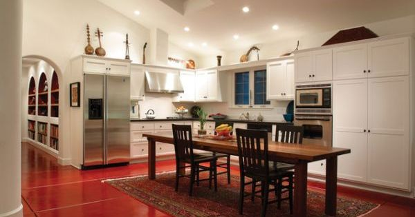 20 L Shaped Kitchen Design Ideas To Inspire You Dining Room Walls Traditional Rugs And Cupboard