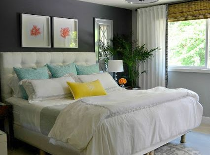 You have to check out this master bedroom DIY transformation. It's such