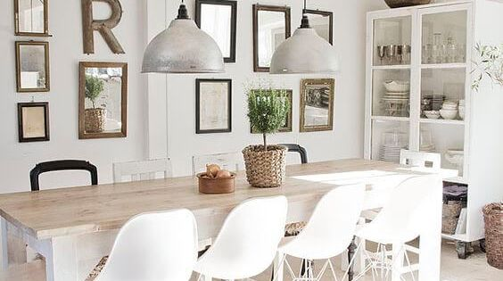 77 Gorgeous Examples Of Scandinavian Interior Design White Scandinavian Dining Room  April 27, 2017 At 10:23PM