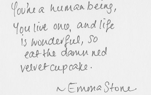 Inspirational quotes (21 photos) theBERRY | Emma Stone