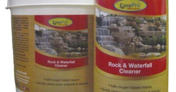 Easypro oxy8 rock and waterfall cleaner 8 pounds by easy for Professional pond cleaners
