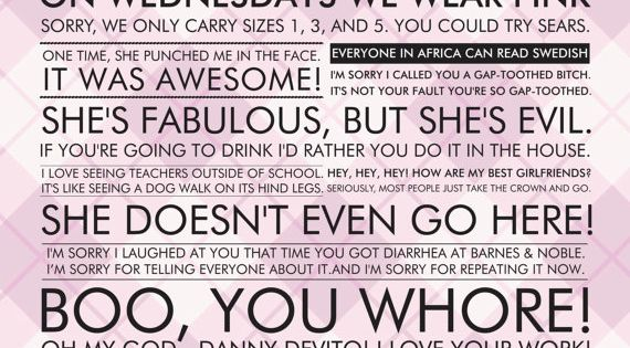 Mean Girls quotes. Hilarious movie