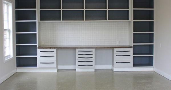 Garage organization for the home pinterest garajes for Muebles para garage