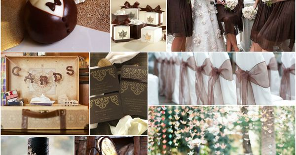 Brown And Gold Wedding Ideas: Brown, Gold And Cream Wedding