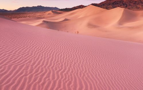 Ibex Sand Dunes / Death Valley National Park, CA. kewl color story