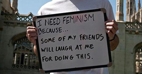 Search Who Needs Feminism Parody