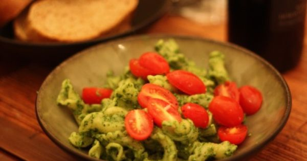 Swiss chard pesto with pumpkin seeds and queso anejo   Chard ...