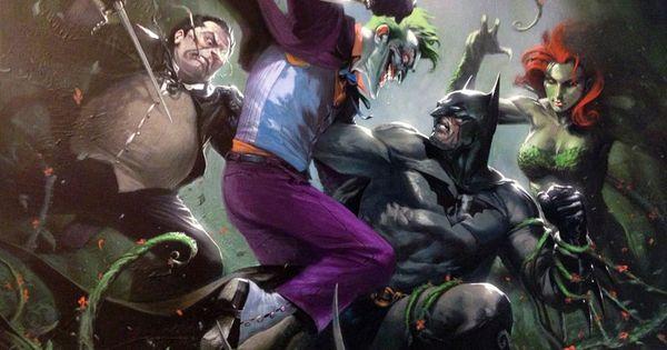 Gotham's Dark Knight, by Gabriele Dell'Otto.