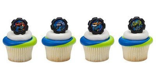 Blaze Wheels Cupcake Rings 24 Ct Haven T You Heard That You