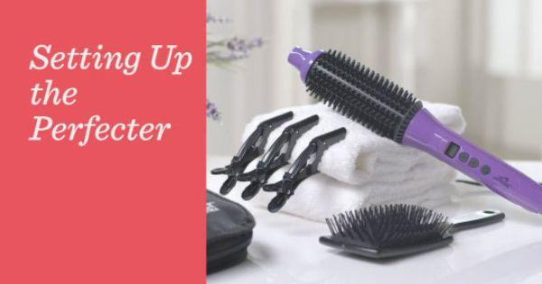 Calista Perfecter Ultra 2 In 1 Hair Styler Accessories Qvc Com Hair Styler Accessories Qvc