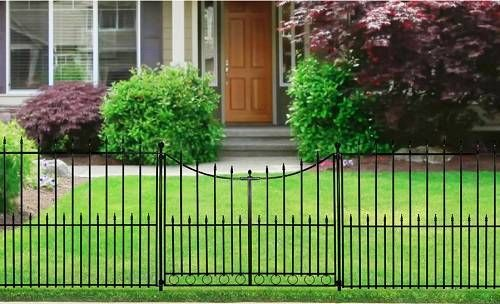 Recommended Aluminum Fence Gate Reviews Form Lowes Metallzaun