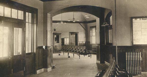 Historic Train Depots Interior Interior Blair Train