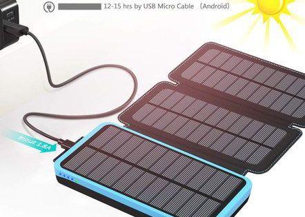 High Capacity Solar Power Banks For Uk Mobiles Solar Charger Portable Solar Power Battery Charger Solar Battery Charger