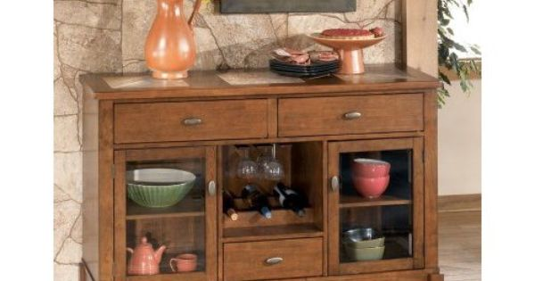 Signature design by ashley tucker server furniture decor buffet sideboard - Tucker dining room set ...