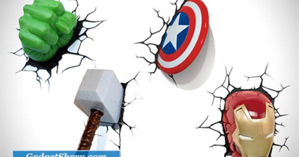 3d Wall Art Avengers And 3d Wall On Pinterest