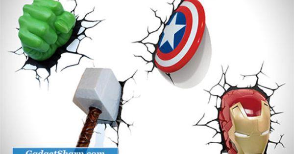 3d Wall Art Avengers And 3d Wall On Pinterest
