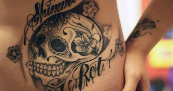 Sugar skull. tattoos tattoo ink