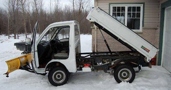I Want A Boss 72 Hydraulic Snow Plow Mini Trucks 4x4 Mini Trucks Japan Cars