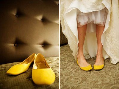 Offbeat Wedding Shoes A Cup Of Jo Yellow Wedding Shoes Wedding Shoe Trend Yellow Shoes