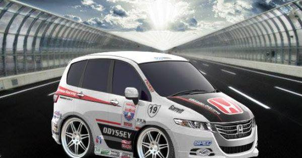 Honda Odyssey 2011 Racing Car Town Templates