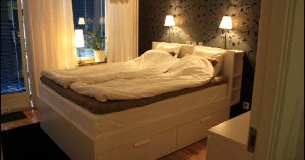 Ikea Brimnes Bed Amp Headboard Sovrumet Pinterest Bed