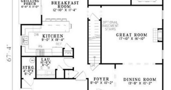 House plan 110 00430 country plan 1 774 square feet 2 for 110 square feet room