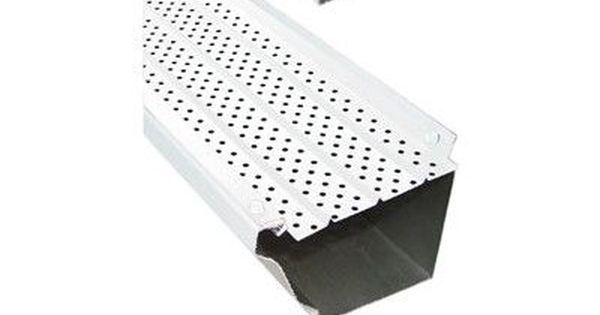 Gdm Flexxpoint 30 Year Gutter Cover System Wayfair In 2020 Gutter Seamless Gutters Metal Roof